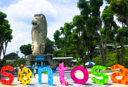 The Merlion Sentosa – Singapore