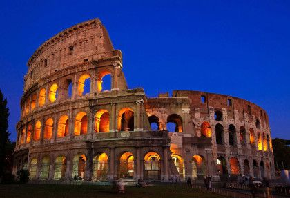 The Roman Colosseum – Italy