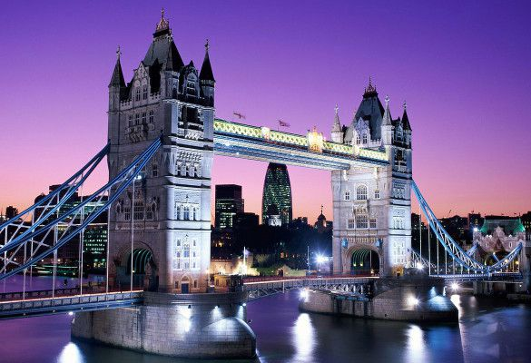 Tower Bridge – London, UK