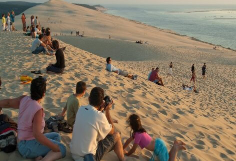 Famous Destinations - Dune du Pyla Beach, France