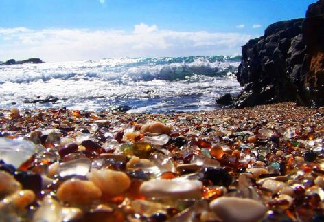 Glass Beach, California - Famous Destinations