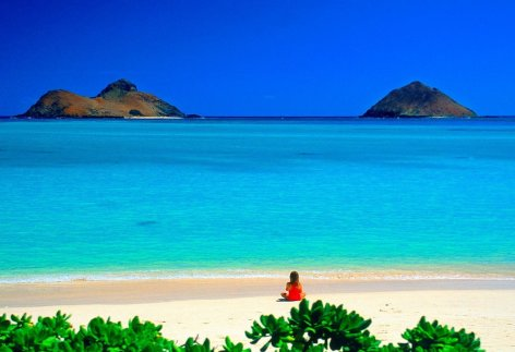 Lanikai Beach, Hawaii - Famous Destinations