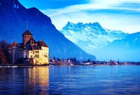 Lake Geneva - Europe - Famous Destinations